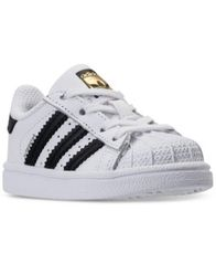 Image of adidas Toddler Boys' Superstar Casual Sneakers from Finish Line