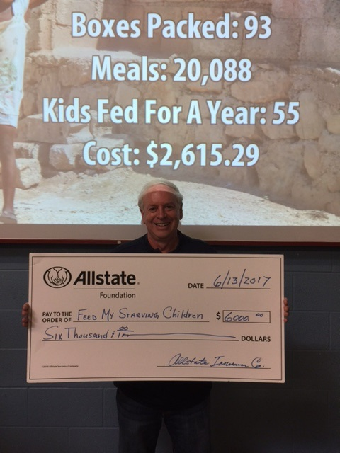 Marc Turim - Feed My Starving Children Schaumburg Receives Allstate Foundation Helping Hands Grant