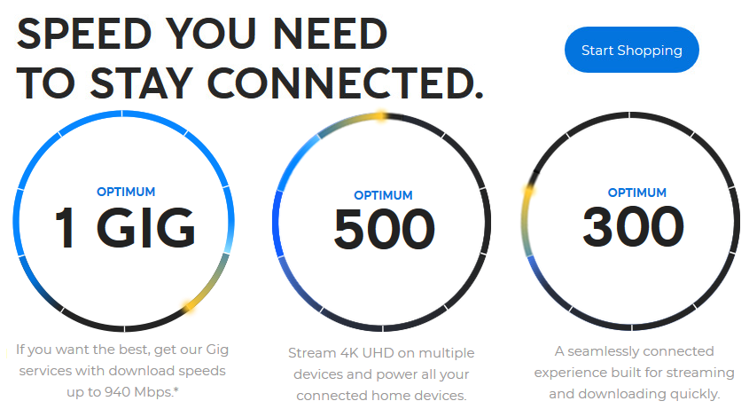 The speed you need to stay connected in Bethpage, NY