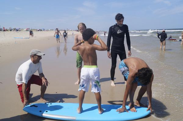 Steven Lambusta - We really enjoyed volunteering for Parents of Autistic Children. We spent a day teaching autistic children to surf in Seaside Park NJ.