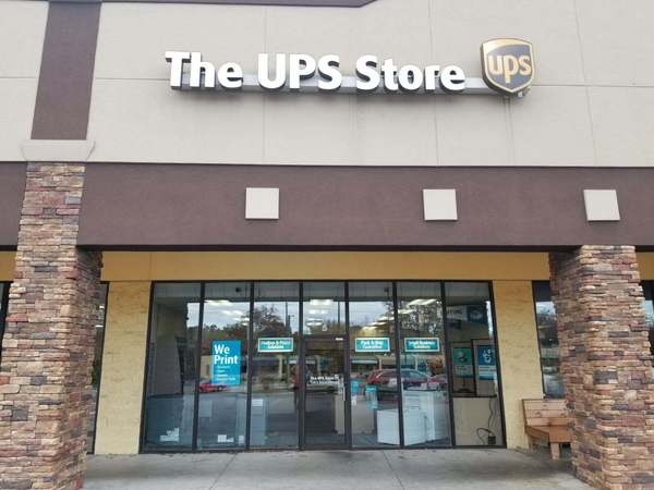Facade of The UPS Store Johnson City
