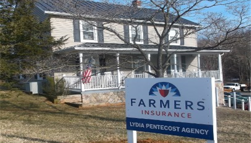Lydia Pentecost Insurance Agency Front of Warrenton office