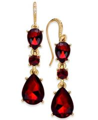 Image of Charter Club Triple Drop Earrings, Created for Macy's