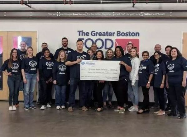 Patty Prashad - Supporting The Greater Boston Food Bank
