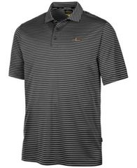 Image of Greg Norman for Tasso Elba Men's 5-Iron Striped Performance Polo, Created for Macy's