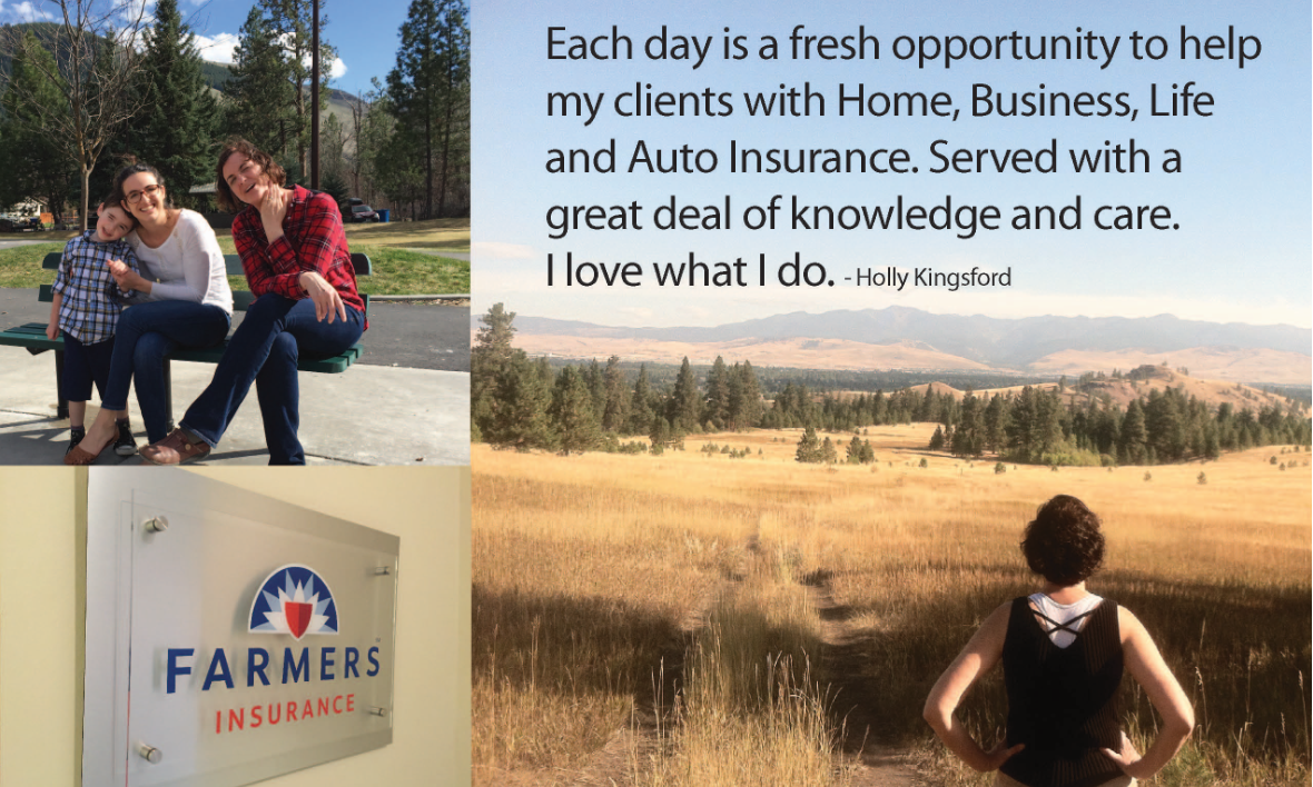 Farmers Life Insurance Quote Holly Kingsford  Farmers Insurance Agent In Missoula Mt