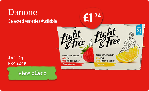 Danone offer available until 11th February