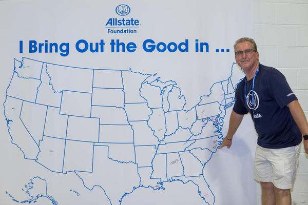 Paul Whitehead - Allstate Foundation Helping Hands in the Community