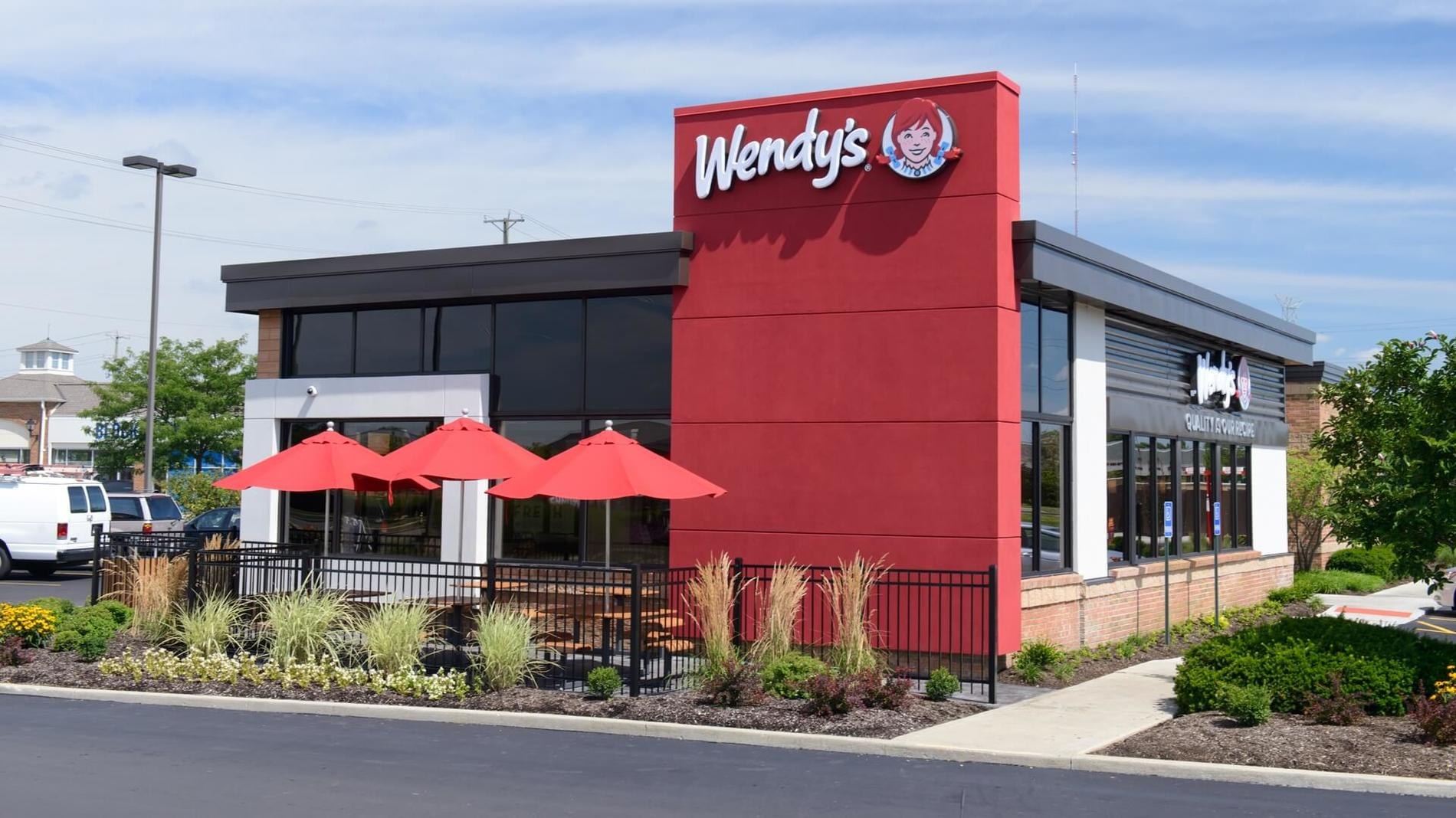 Wendy's 50 International Drive South: fast food, burgers