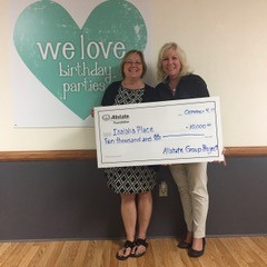 Patty Rose - Isaiah's Place Receives Allstate Foundation Helping Hands Grant