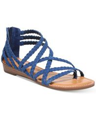 Image of Carlos by Carlos Santana Amara Braided Flat Sandals