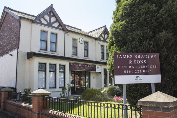 James Bradley & Sons Funeral Directors in Clayton, Manchester.