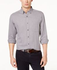 Image of Club Room Men's Buffalo Flannel Shirt, Created for Macy's
