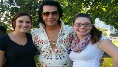 Cody & Jozay got to meet Elvis at National Night out on August 4th!