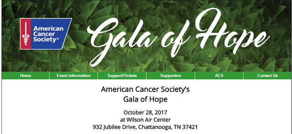 American Cancer Society's Gala of Hope