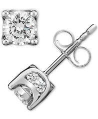 Image of TruMiracle® Diamond Stud Earrings (1/2 ct. t.w.)