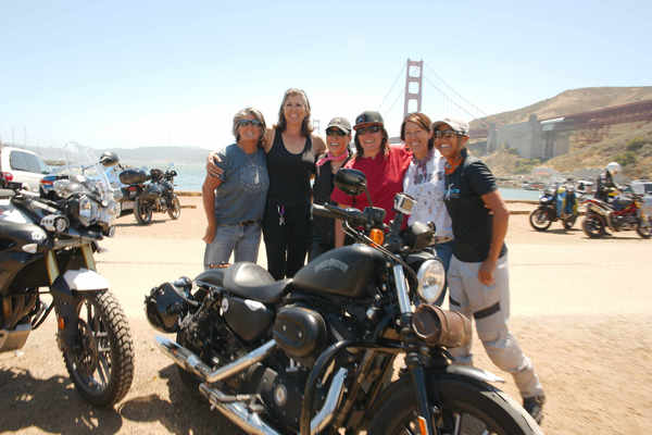 Dawn Prince - Proud to be a part of the Sisters' Centennial Motorcycle Ride!