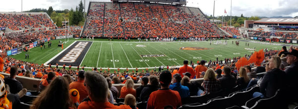 Heidi Rowan - A Good Time at the Oregon State University Game