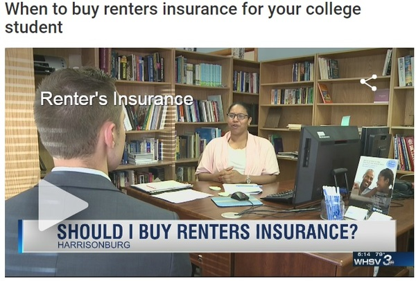 Abbas Rawoot - Christine Johnson, an Allstate Sales Agent for Abbas Rawoot Agency, explains why its important to have renters insurance as a student going back to school