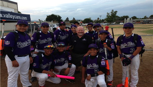 Puerto Rico team. 2014 Intermediate Little League World Series,Livermore CA.