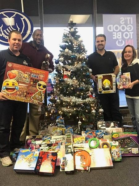 Murphy Family Insurance - Support for Toys for Tots