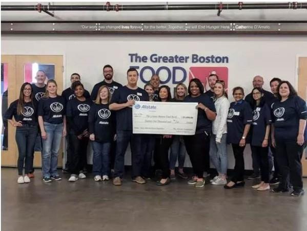 Jason Calianos - Supporting The Greater Boston Food Bank