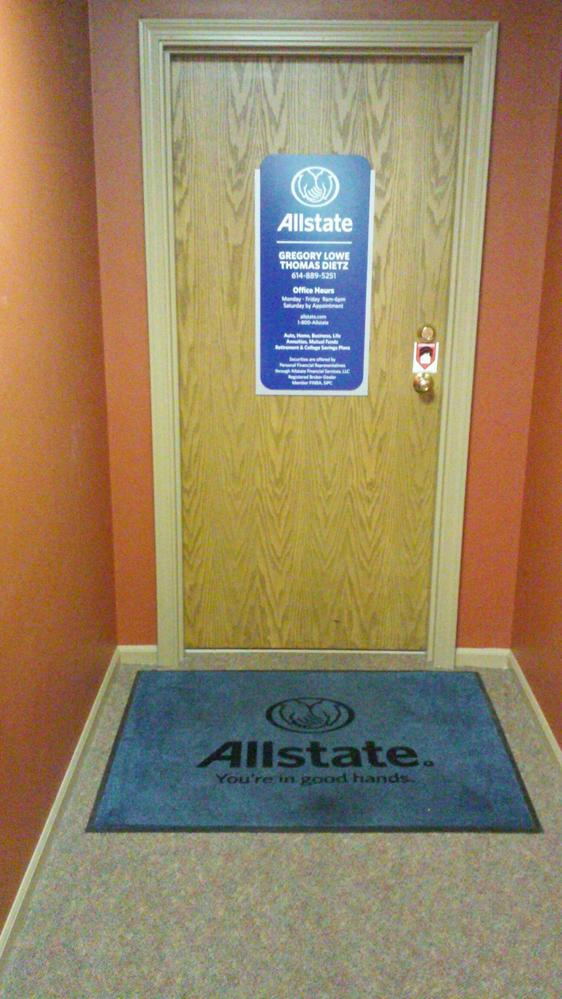 Allstate Car Insurance In Dublin Oh Gregory Lowe