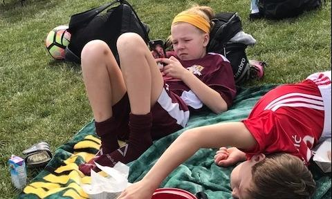 Summer relaxing at the SUSC soccer tournament