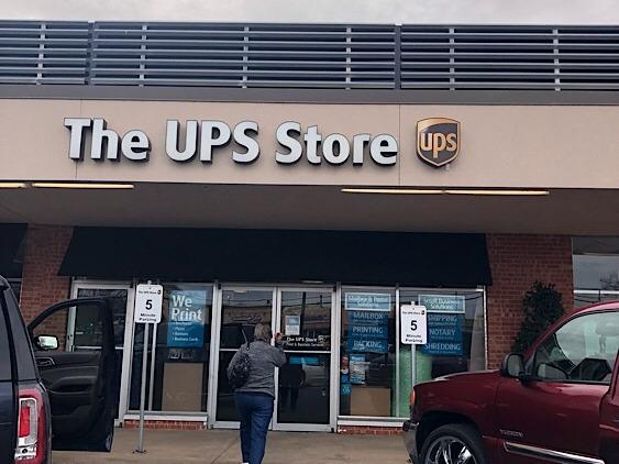 Facade of The UPS Store Amarillo