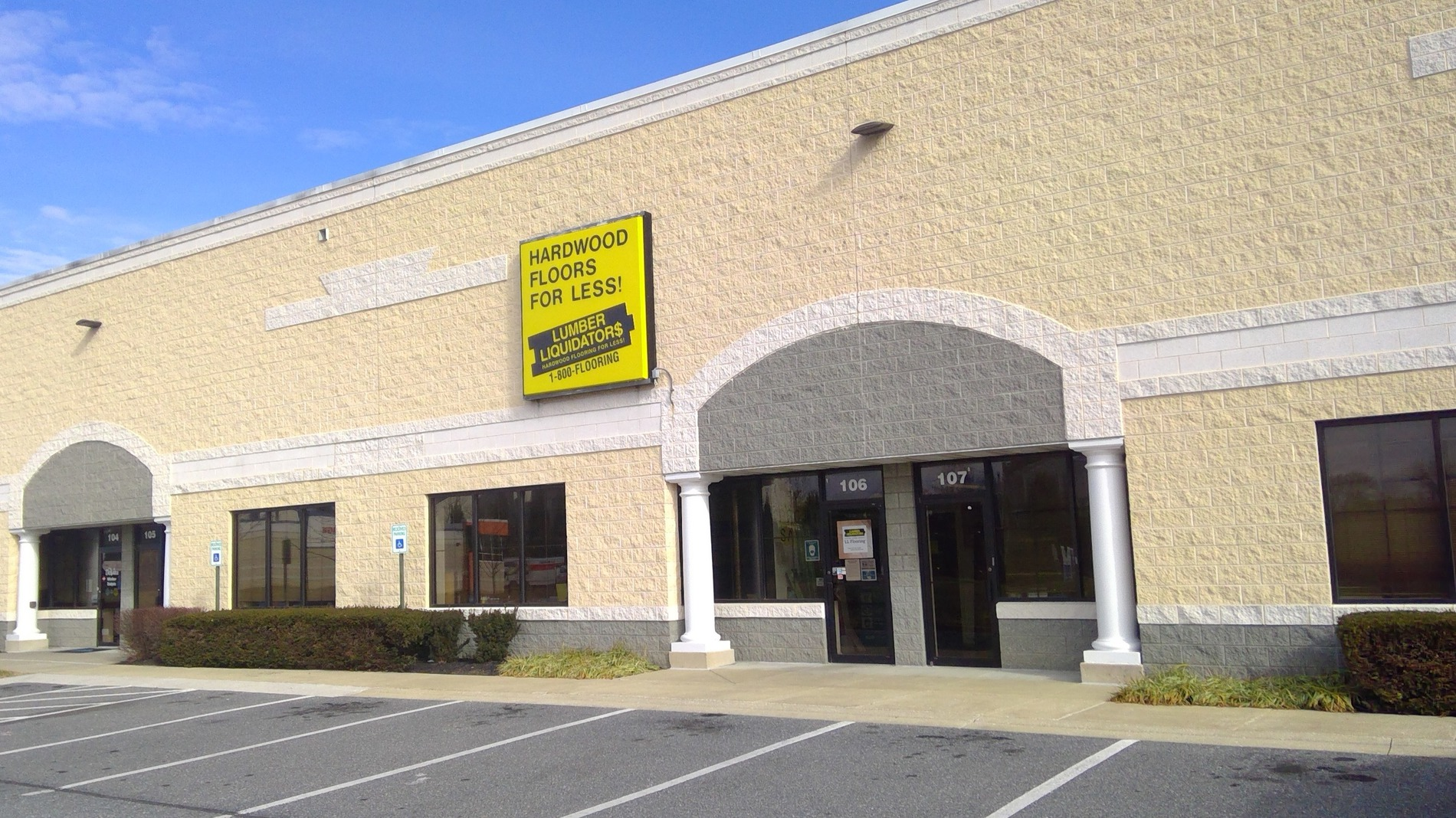LL Flooring #1084 Baltimore | 2707 N Rolling Road | Storefront