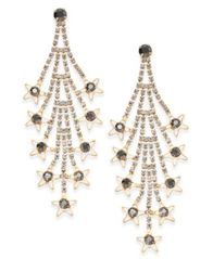 Image of INC International Concepts Gold-Tone Crystal Cascade Drop Earrings, Created for Macy's