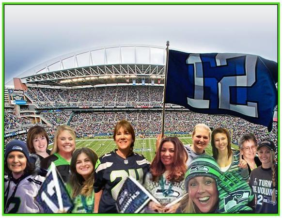 We love supporting our local Seahawks