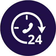 24/7 funeral support icon | Dignity Funerals