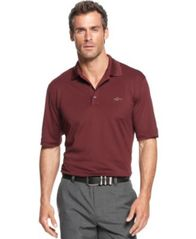 Image of Attack Life by Greg Norman Men's 5 Iron Performance Golf Polo