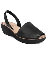 Image of Kenneth Cole Reaction Women's Fine Glass Platform Wedge Sandals