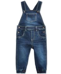 Image of First Impressions Denim Overall, Baby Boys (0-24 months), Created for Macy's