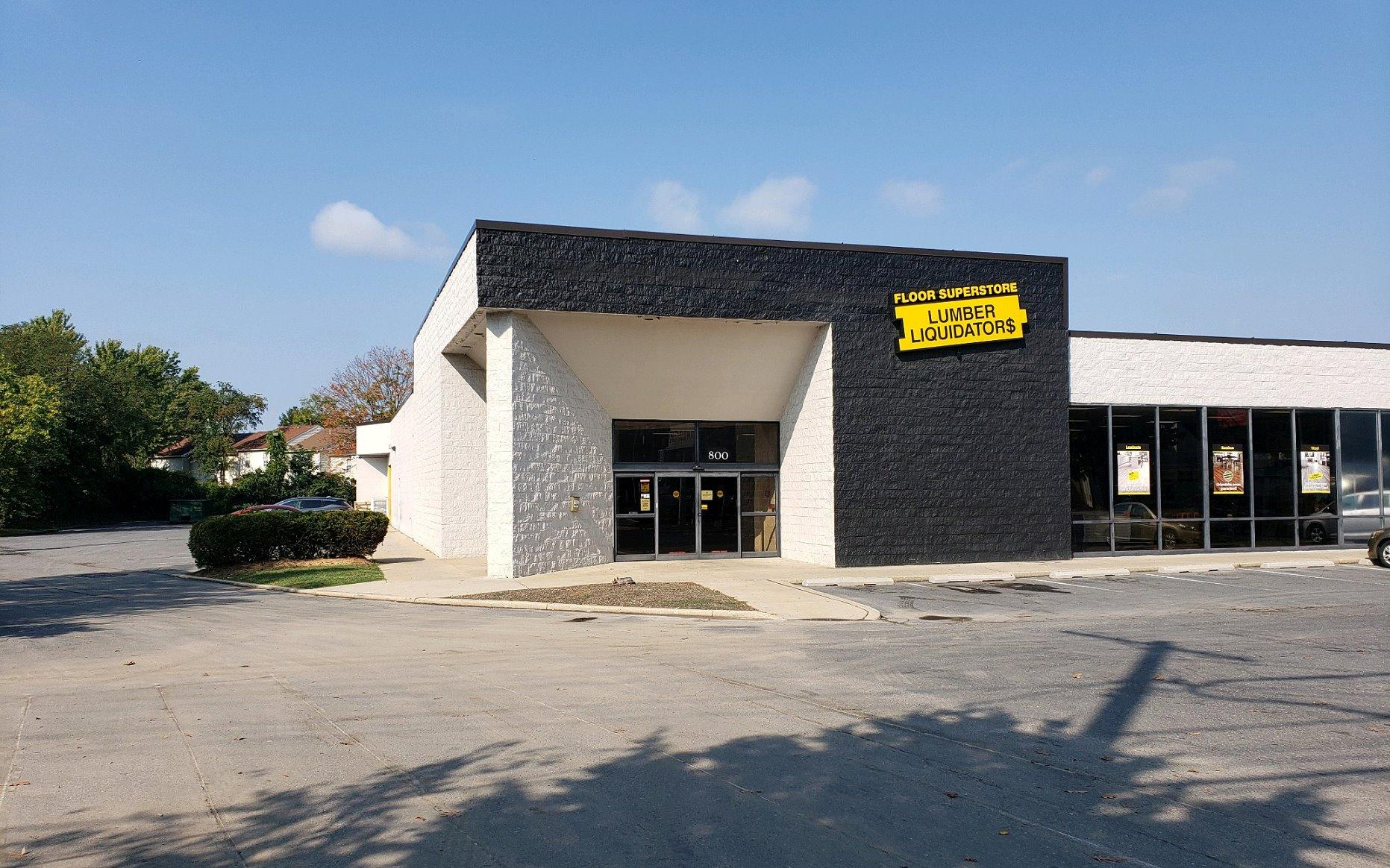 LL Flooring #1320 Rockville | 800 Hungerford Drive | Storefront