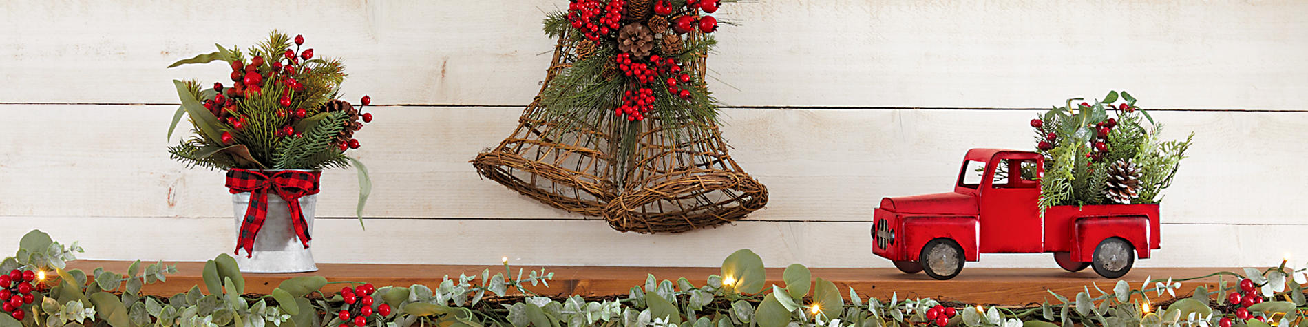 Festive Holiday decor for your Christmas decorating needs