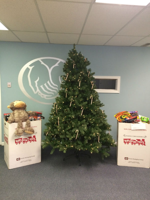 Adaias Souza - Supporting Marine Toys for Tots Foundation