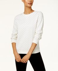 Image of Karen Scott Print Sweatshirt, Created for Macy's