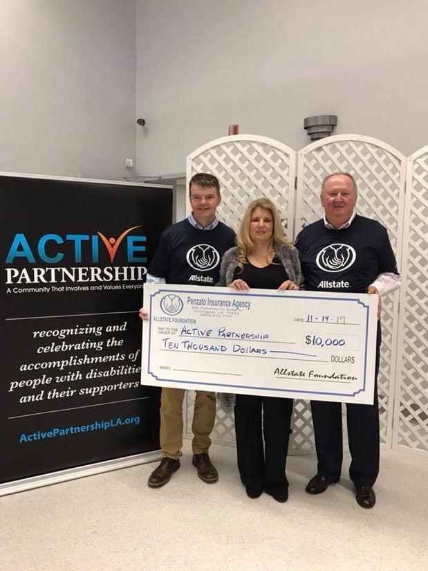 Frank Carmeli - Active Partnership Receives Foundation Helping Hands Grant