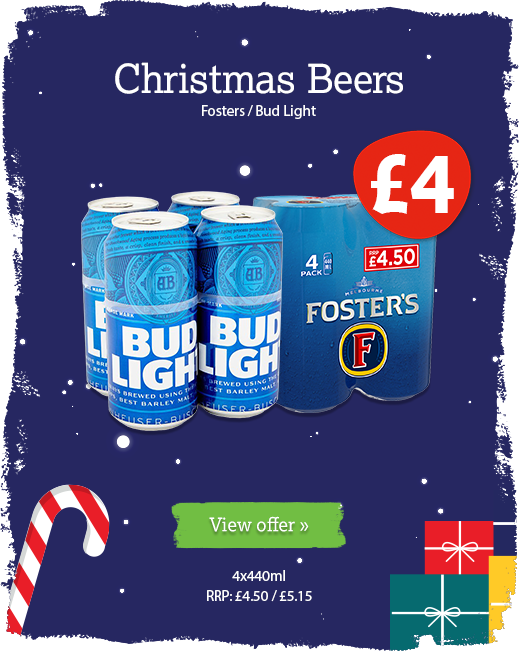 Christmas beer offer available until 10th December