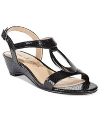 Image of Karen Scott Carmeyy Wedge Sandals, Created for Macy's