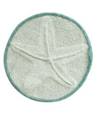 "Image of Bacova Starfish Cotton 25"" Round Accent Rug"