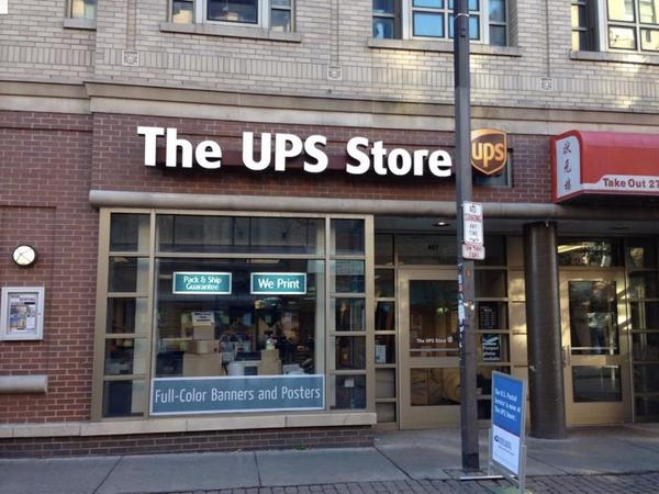 Facade of The UPS Store Ithaca