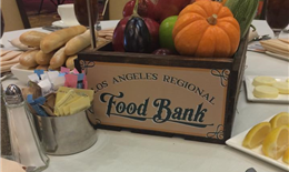 A Great Cause - Partnering with LA Food Bank