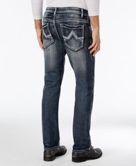 Image of I.N.C. Stretch Slim Straight Jeans, Created for Macy's