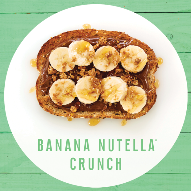 Image of Banana Nutella® Crunch Toast