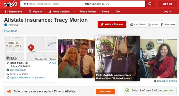 Tracy Morton - Rate our Service and Leave a Review on My Yelp Page!