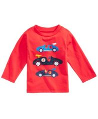 Image of First Impressions Cars Cotton T-Shirt, Baby Boys, Created for Macy's